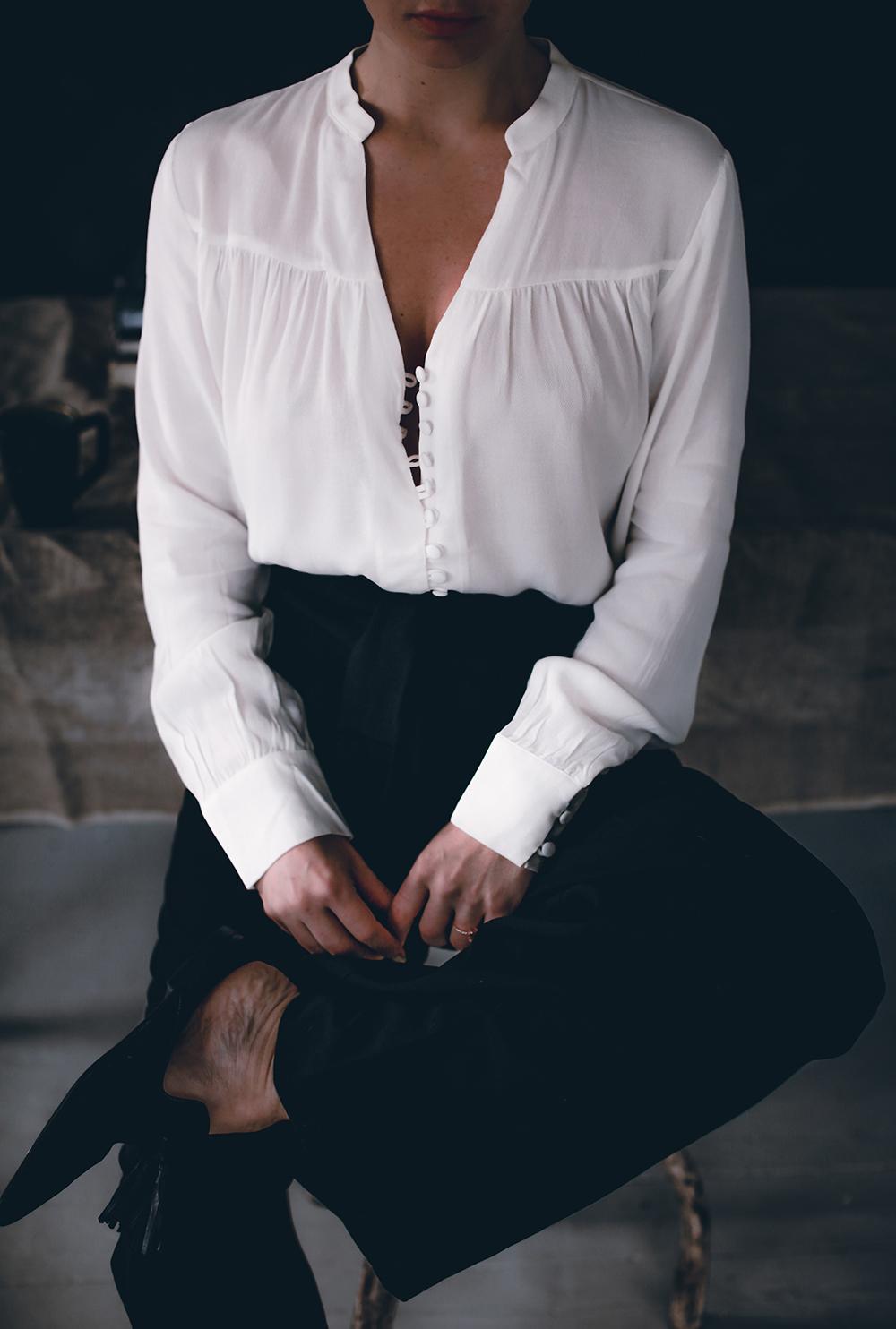 Åh – finns det något mer klassiskt än svarta byxor och en vit skjorta eller  blus  536f6ee8a81a6
