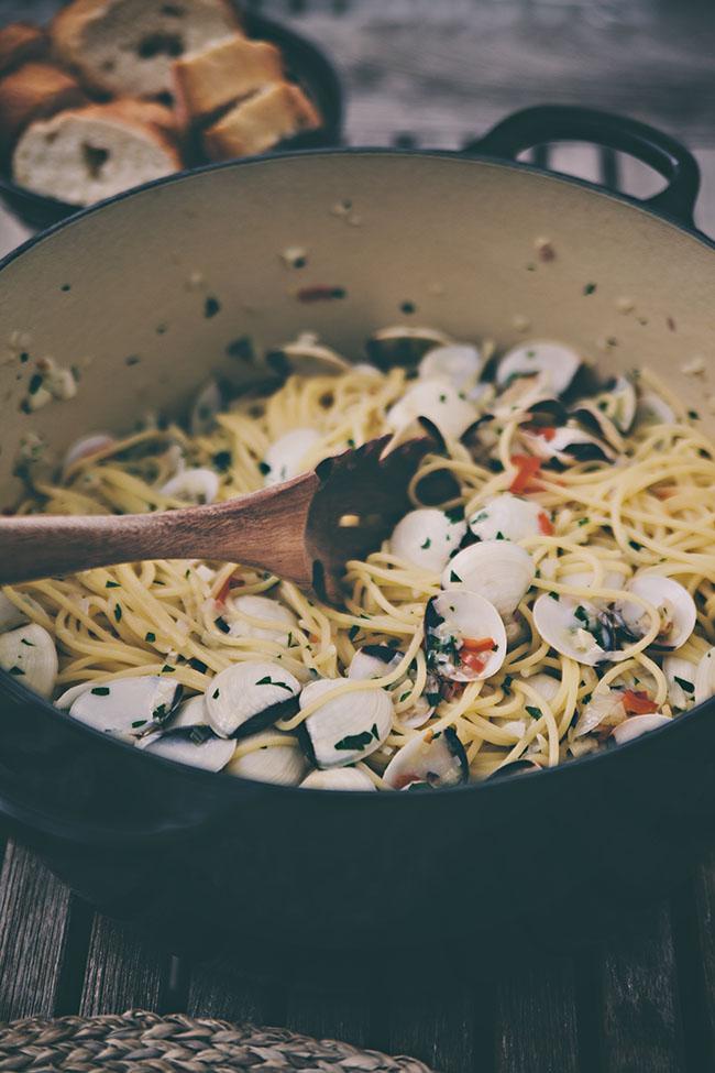 pasta vongole / helt enkelt